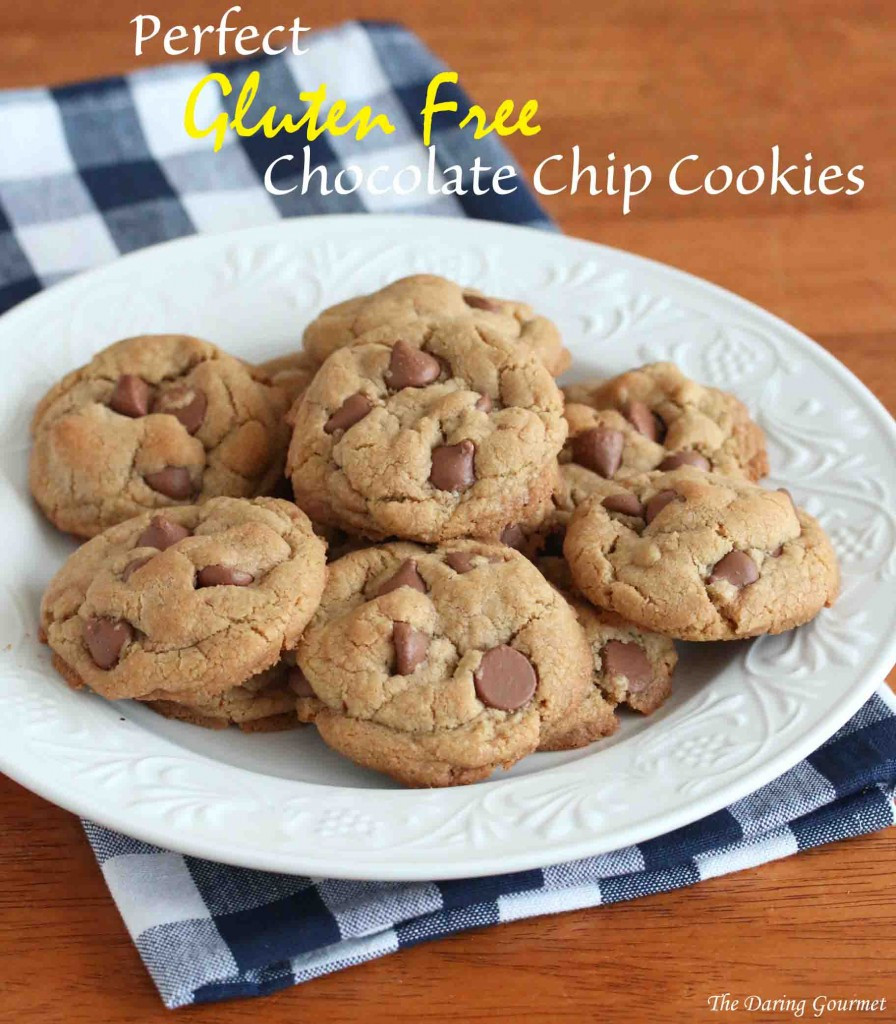 Gluten Free Chocolate Chip Cookies  Perfect Gluten Free Chocolate Chip Cookies The Daring