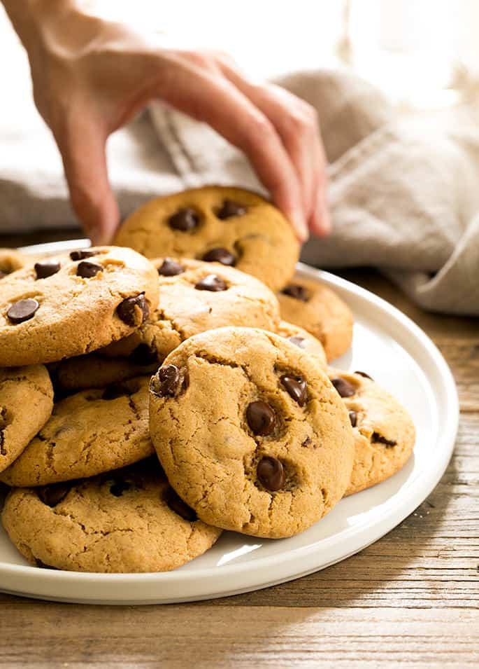 Gluten Free Chocolate Chip Cookies  Gluten free Pumpkin Chocolate Chip Cookies