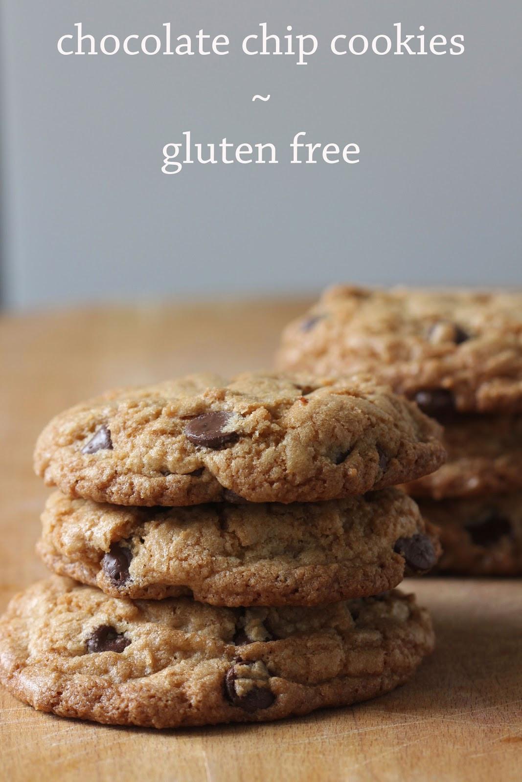 Gluten Free Chocolate Chip Cookies  Chocolate Chip Cookies Gluten Free