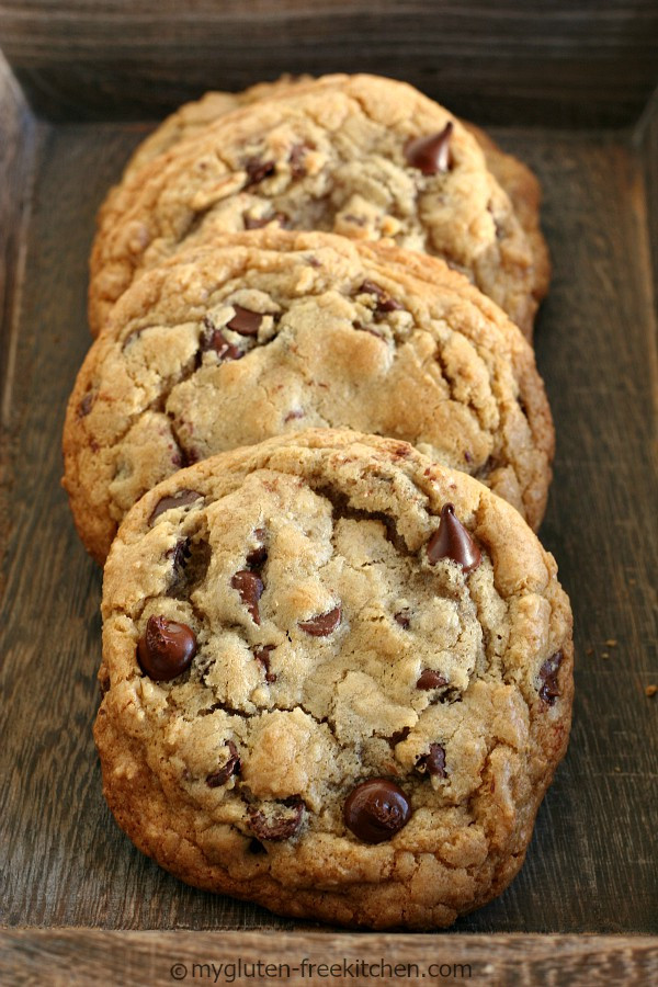 Gluten Free Chocolate Chip Cookies  The Best Chewy Gluten free Chocolate Chip Cookies
