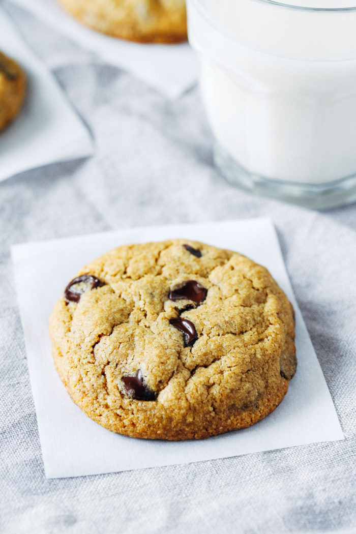 Gluten Free Chocolate Chip Cookies  The Best Vegan and Gluten free Chocolate Chip Cookies