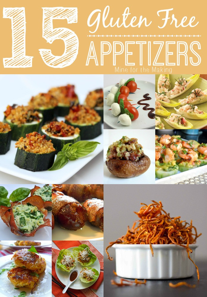 Gluten Free Dairy Free Appetizers  Food a licious Friday 15 Gluten Free Appetizers Mine