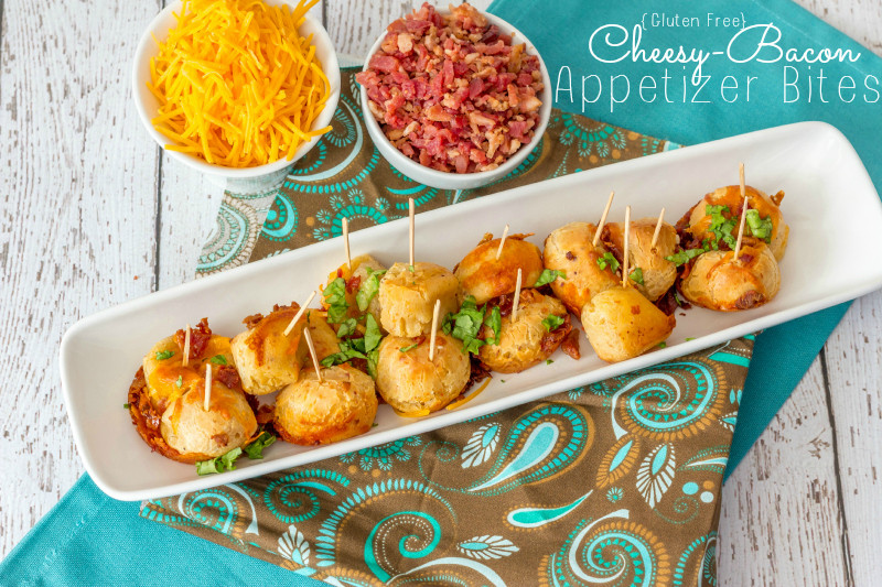 Gluten Free Dairy Free Appetizers  Gluten Free Cheesy Bacon Appetizers Around My Family Table