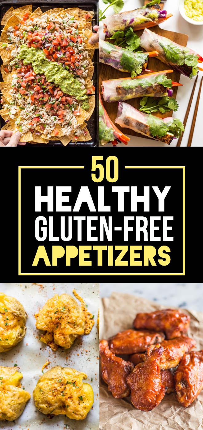 Gluten Free Dairy Free Appetizers  50 Healthy Gluten Free Appetizers