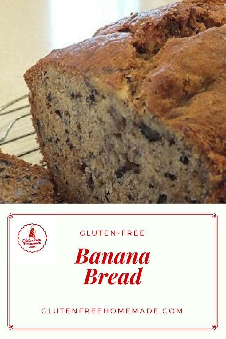 Gluten Free Dairy Free Banana Bread  Gluten Free Banana Bread Dairy Free Egg Free