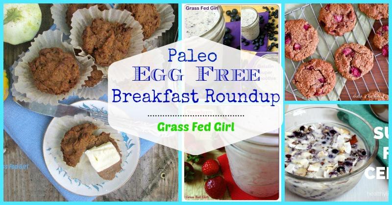 Gluten Free Dairy Free Breakfast Recipes  Top 20 Egg Free Paleo Breakfast Ideas gluten free dairy