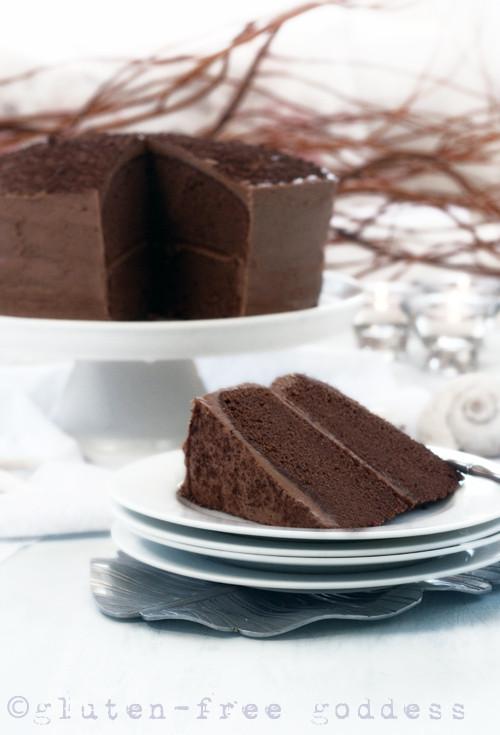 Gluten Free Dairy Free Chocolate Cake  Gluten Free Goddess Recipes Gluten Free Chocolate Layer Cake