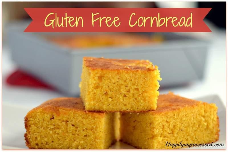 Gluten Free Dairy Free Cornbread  Gluten Free Cornbread Happily Unprocessed