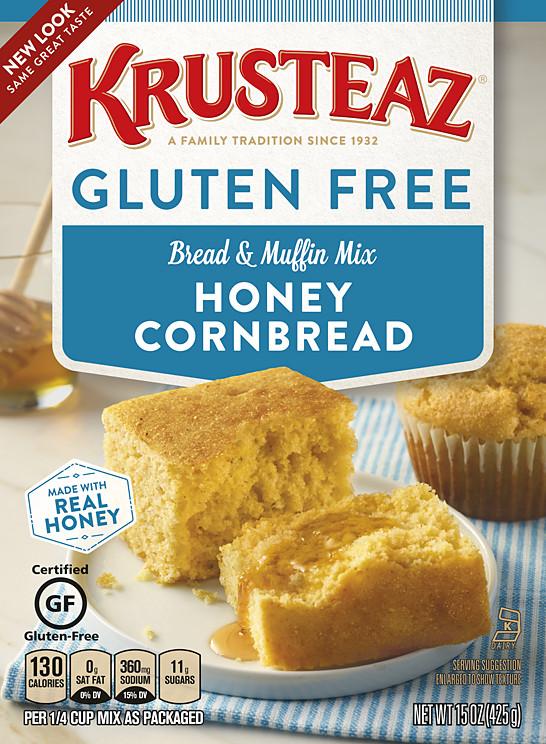 Gluten Free Dairy Free Cornbread  Gluten Free Honey Cornbread & Muffin Mixes
