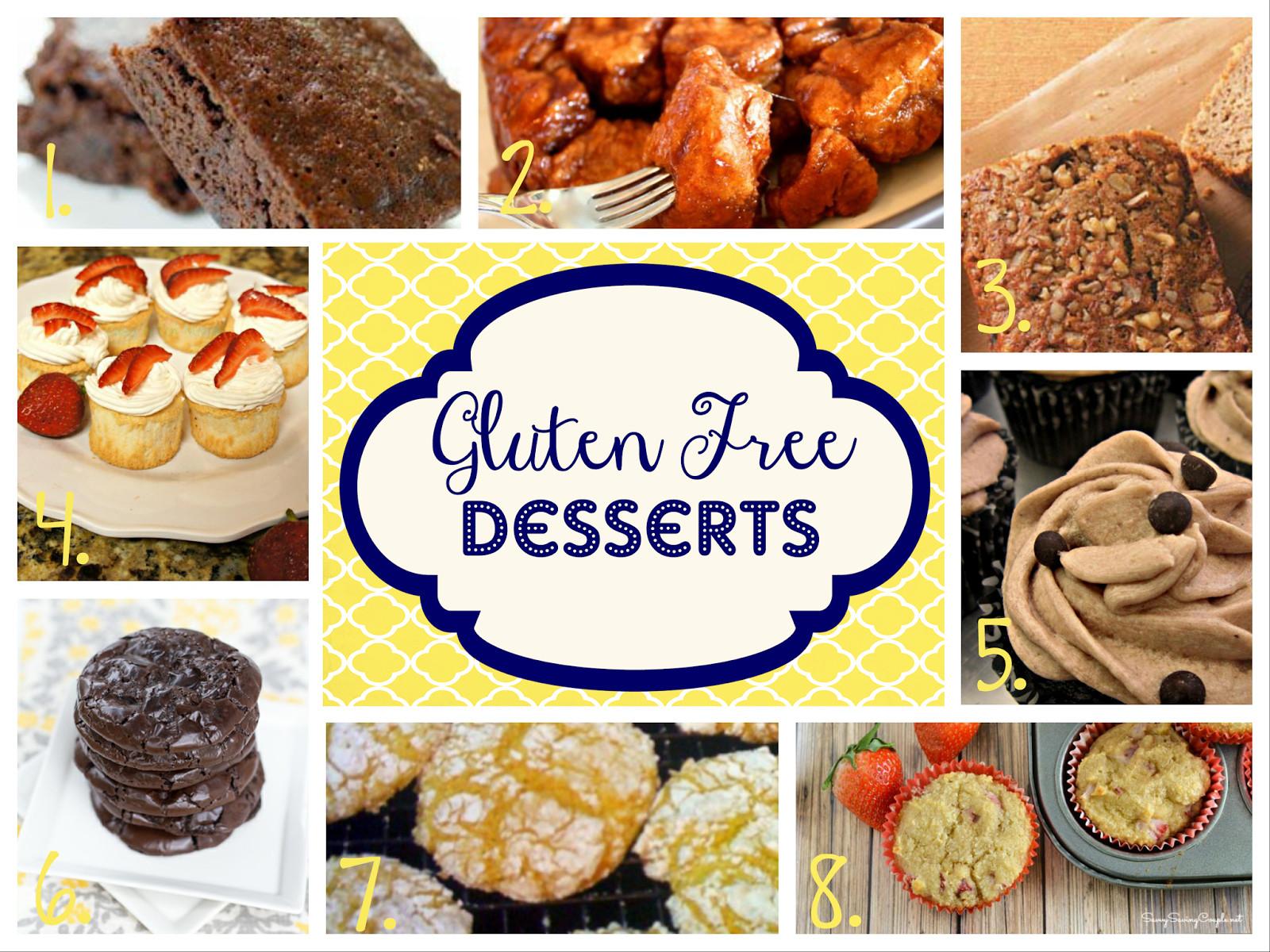 Gluten Free Dessert Ideas  Storage Grace GLUTEN FREE Dessert Recipes Easy