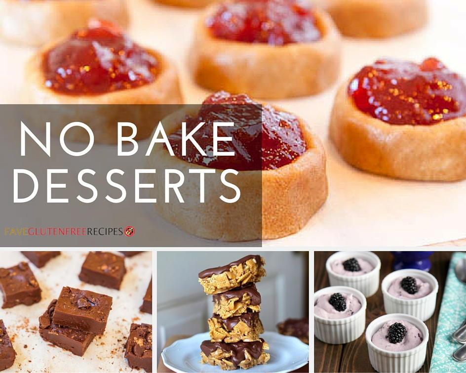 Gluten Free Dessert Ideas  Gluten Free Desserts Best No Bake Recipes