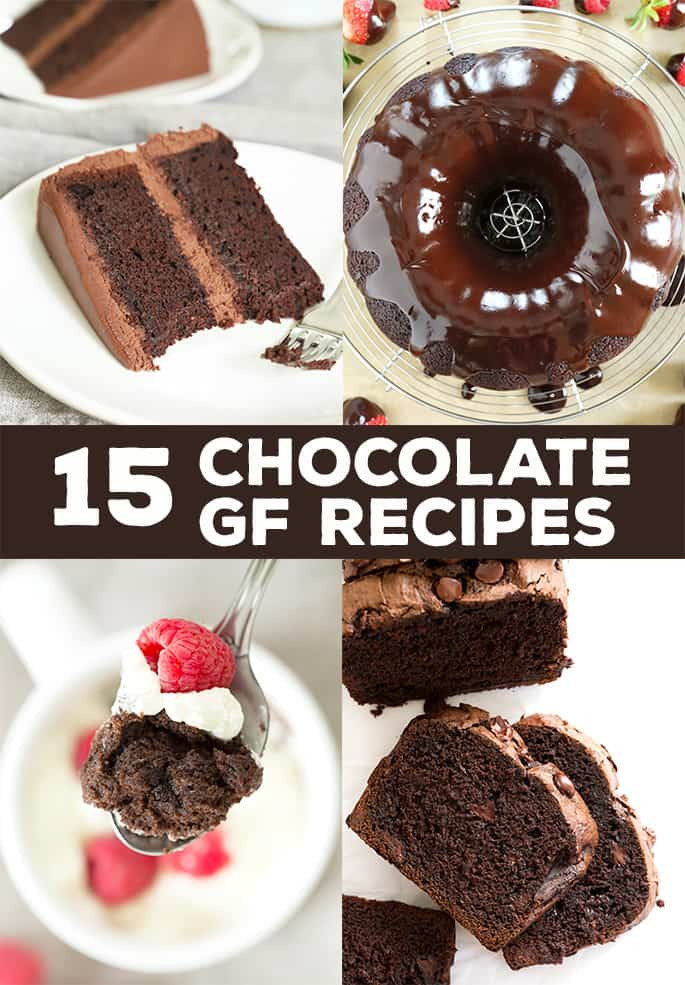 "Gluten Free Dessert Recipes With Normal Ingredients  Gluten Free Chocolate Recipes made with ""normal"" ingre nts"