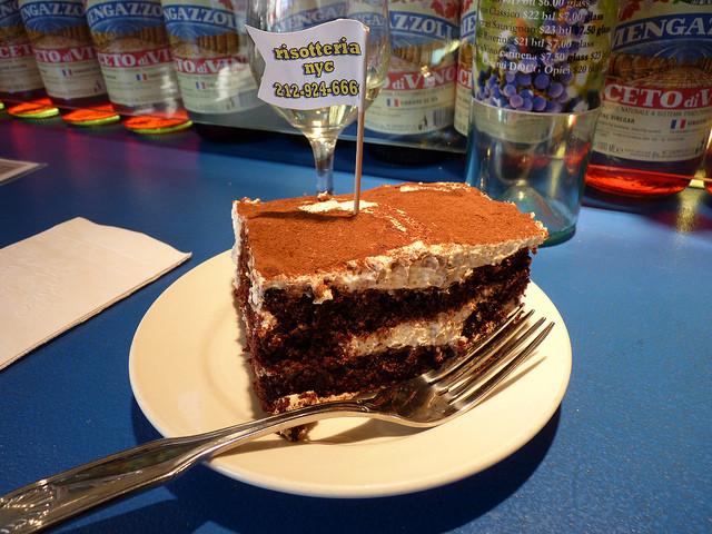 Gluten Free Desserts Nyc  risotteria tiramisu1 Just Desserts NYC