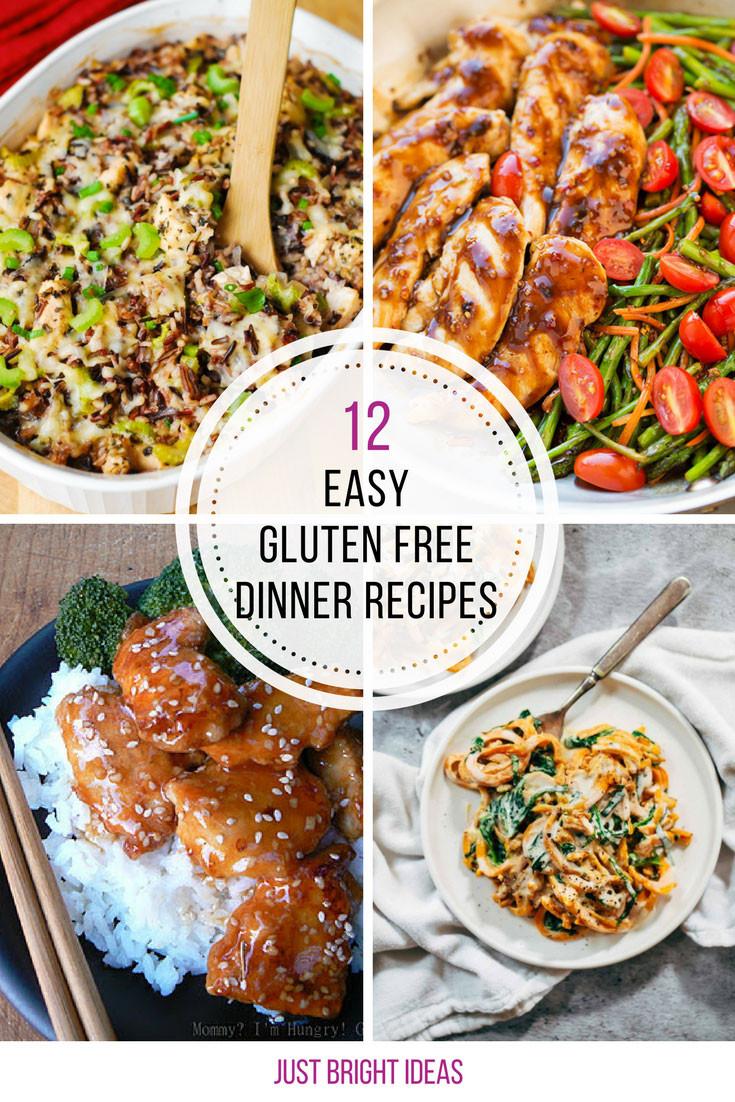 Gluten Free Dinner Ideas  12 Easy Gluten Free Dinner Recipes Your Family Will Love