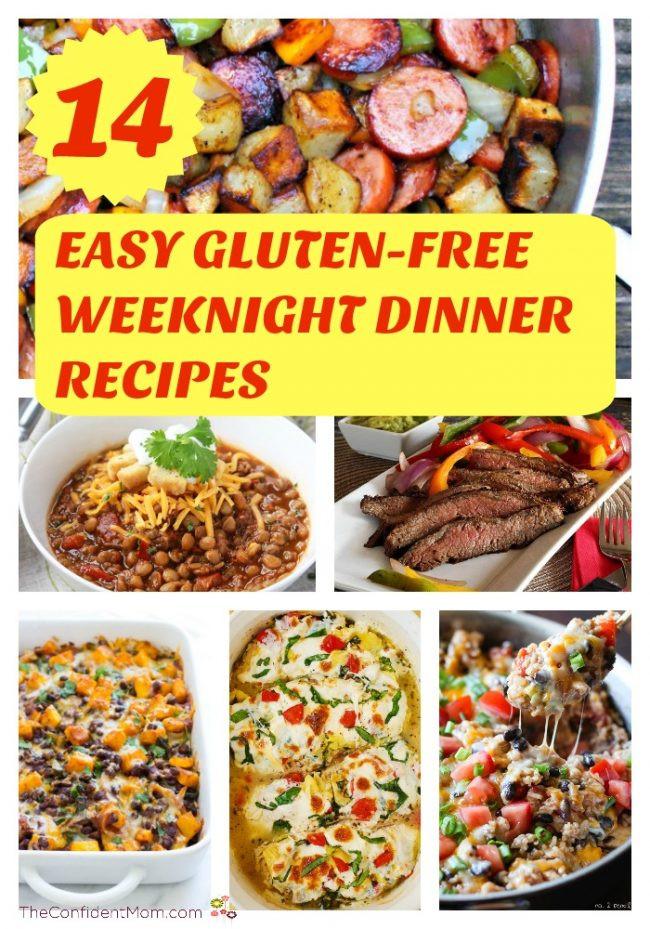 Gluten Free Dinner Ideas  14 Easy Gluten Free Weeknight Dinner Recipes The