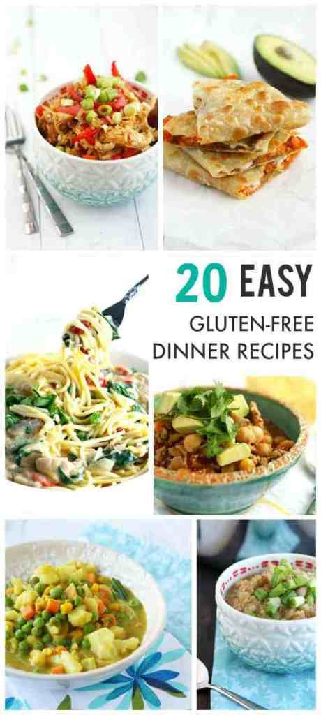 Gluten Free Dinner Ideas  20 Easy Gluten Free Dairy Free Recipes Your Family Will