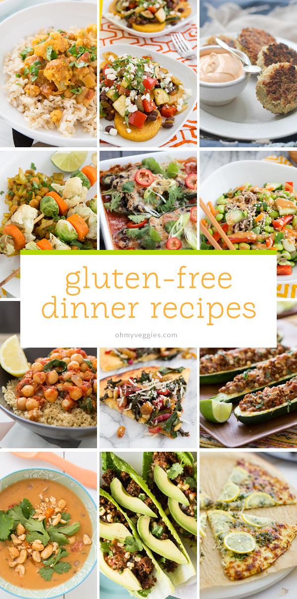 Gluten Free Dinner Ideas  Ve arian & Gluten Free Dinner Ideas Oh My Veggies