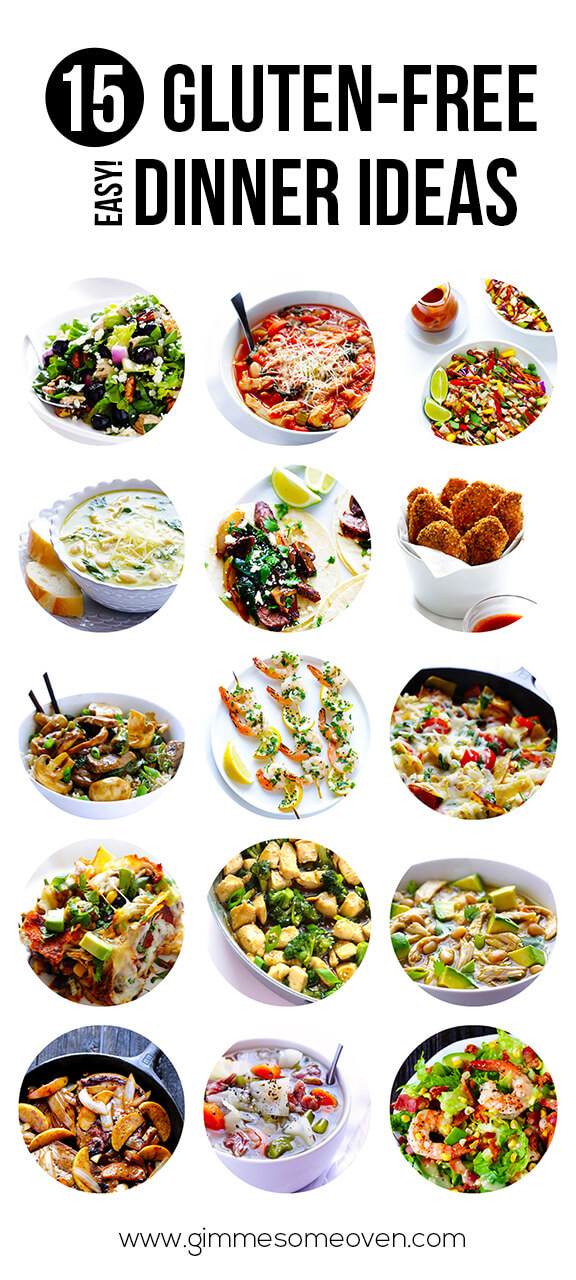Gluten Free Dinner Recipes  15 Gluten Free Easy Dinner Ideas