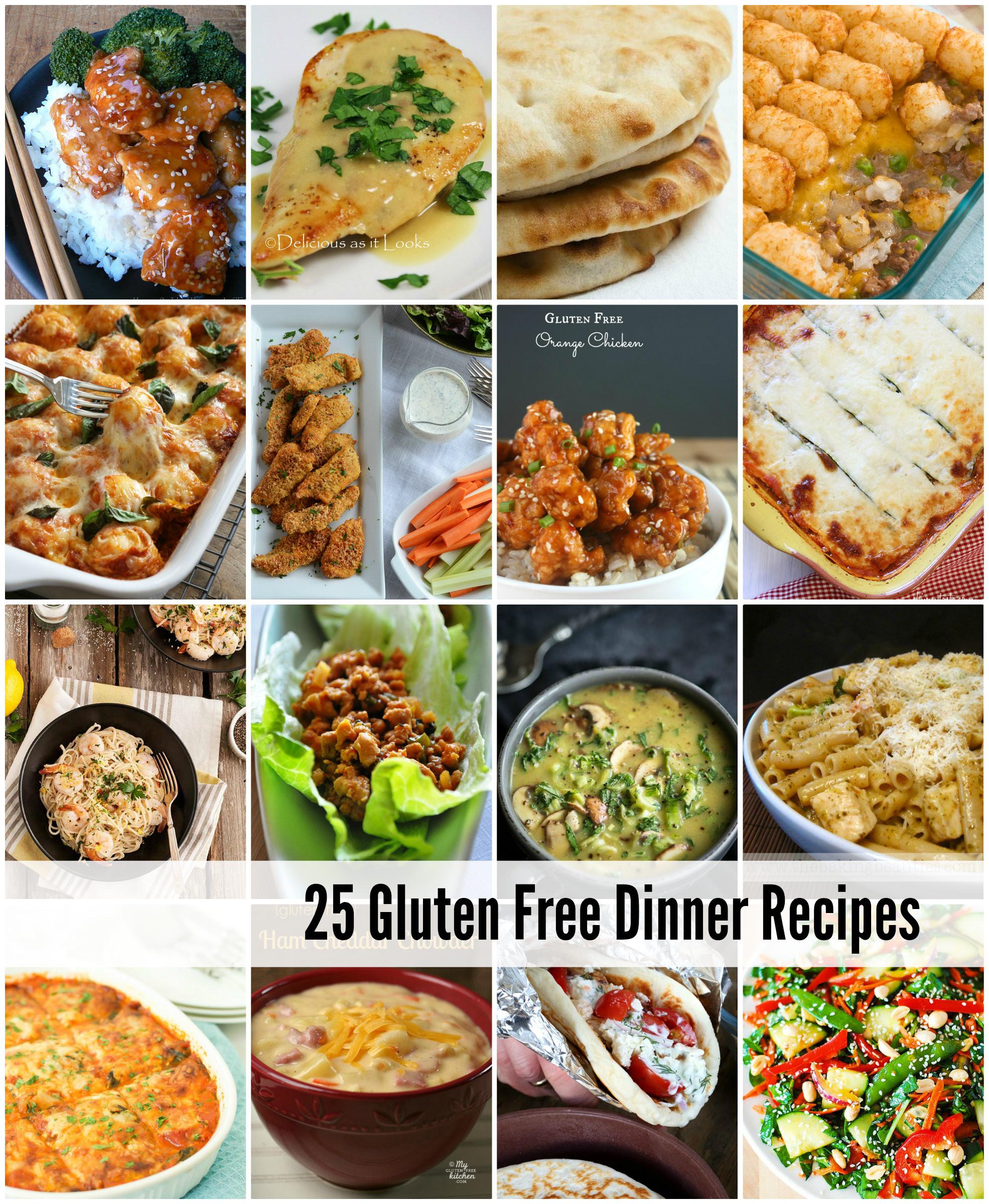 Gluten Free Dinner Recipes  easy gluten free dinner recipes for family