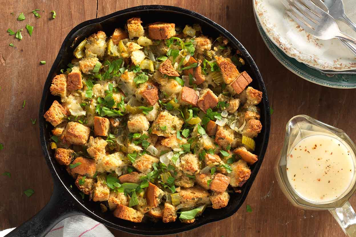 Gluten Free Dinners  Gluten Free Stuffing and Simple Gravy Recipe