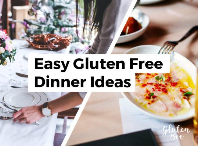 Gluten Free Dinners  11 Easy Gluten Free Dinner Ideas for Busy People Gluten Bee