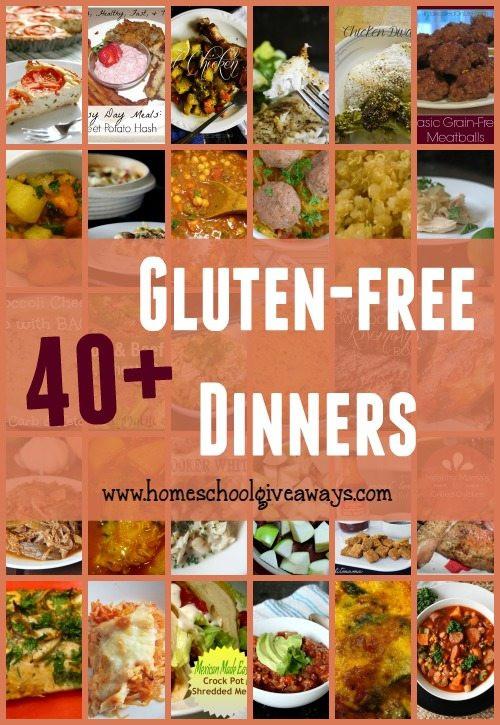 Gluten Free Dinners  40 Gluten Free Dinner Recipes