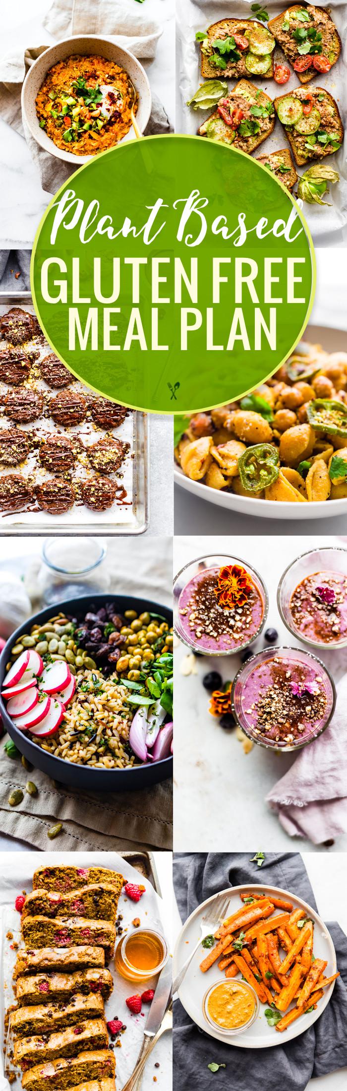 Gluten Free Dinners  Plant Based Gluten Free Meal Plan