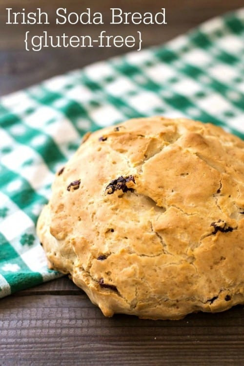 Gluten Free Irish Soda Bread  Irish Inspired Real Food Recipes For St Patrick s Day or
