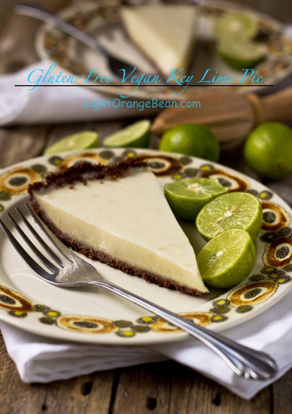Gluten Free Key Lime Pie  Gluten Free Vegan Key Lime Pie