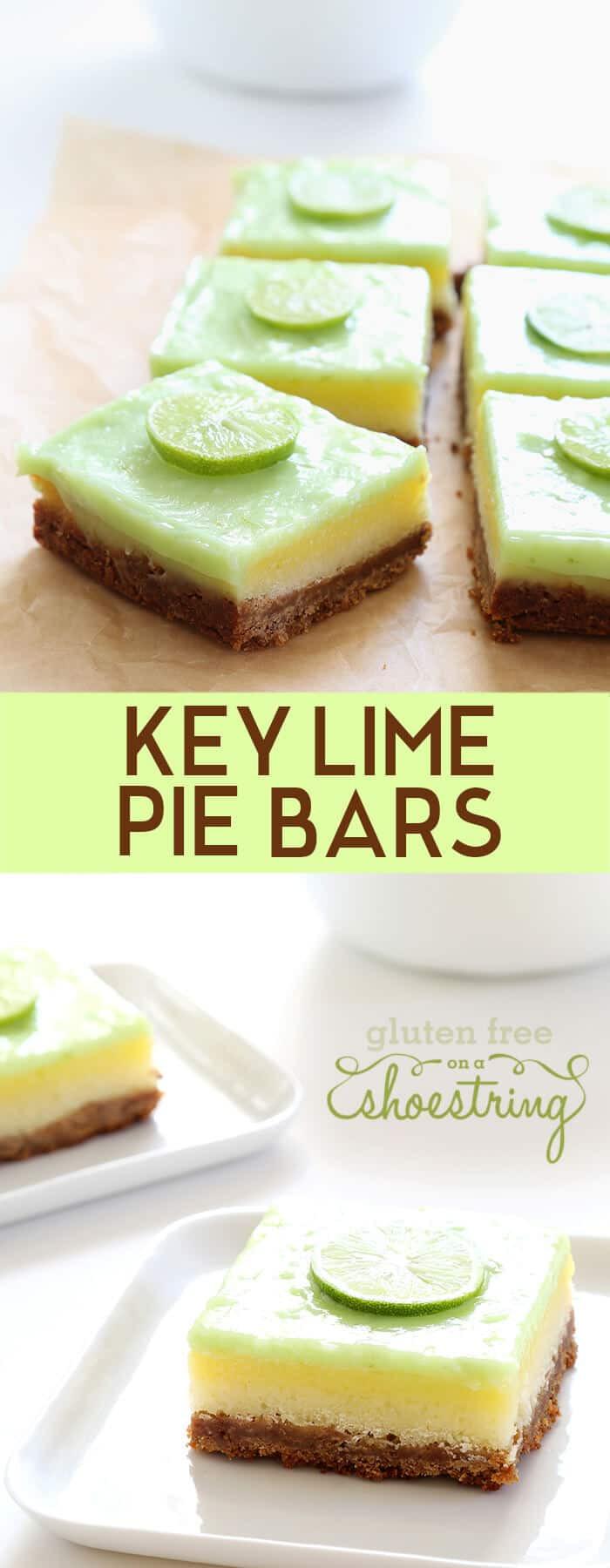 Gluten Free Key Lime Pie  Gluten Free Key Lime Pie Bars ⋆ Great gluten free recipes