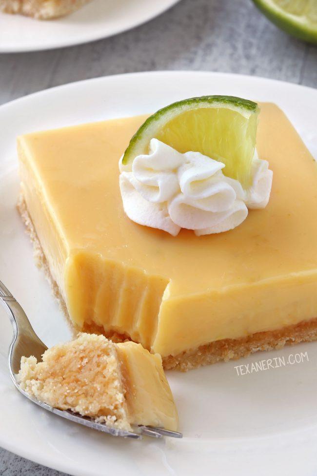 Gluten Free Key Lime Pie  Gluten free Key Lime Pie Bars whole grain all purpose