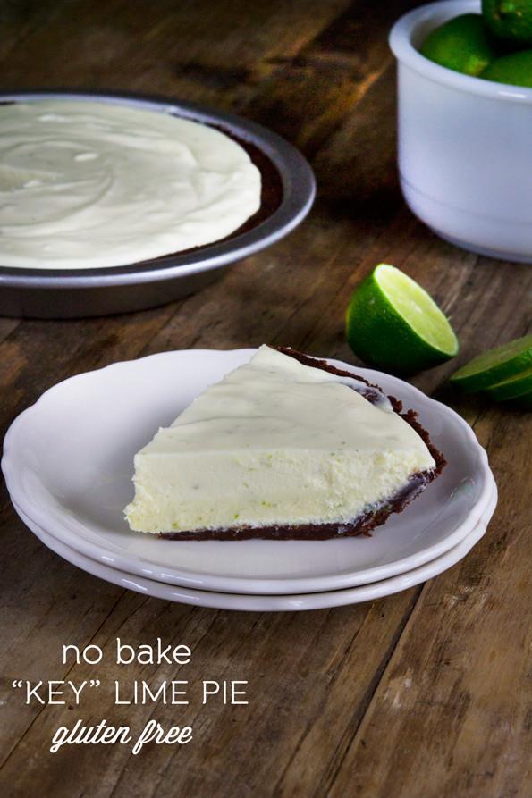 Gluten Free Key Lime Pie  No Bake Gluten Free Key Lime Pie ⋆ Great gluten free