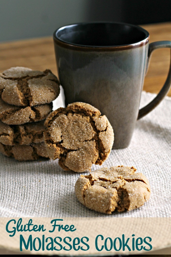 Gluten Free Molasses Cookies  Gluten Free Molasses Cookies Recipe