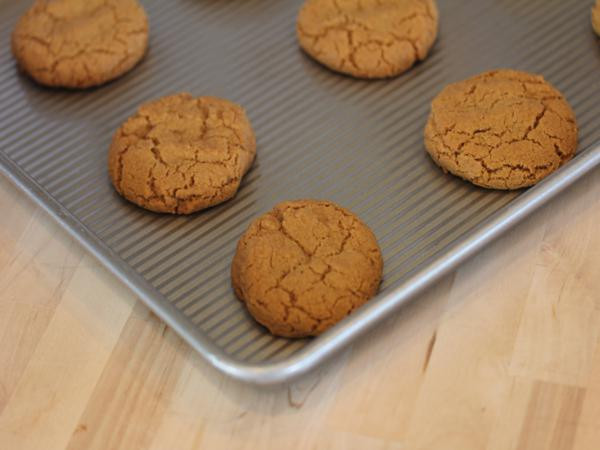 Gluten Free Molasses Cookies  gluten free molasses ginger cookies