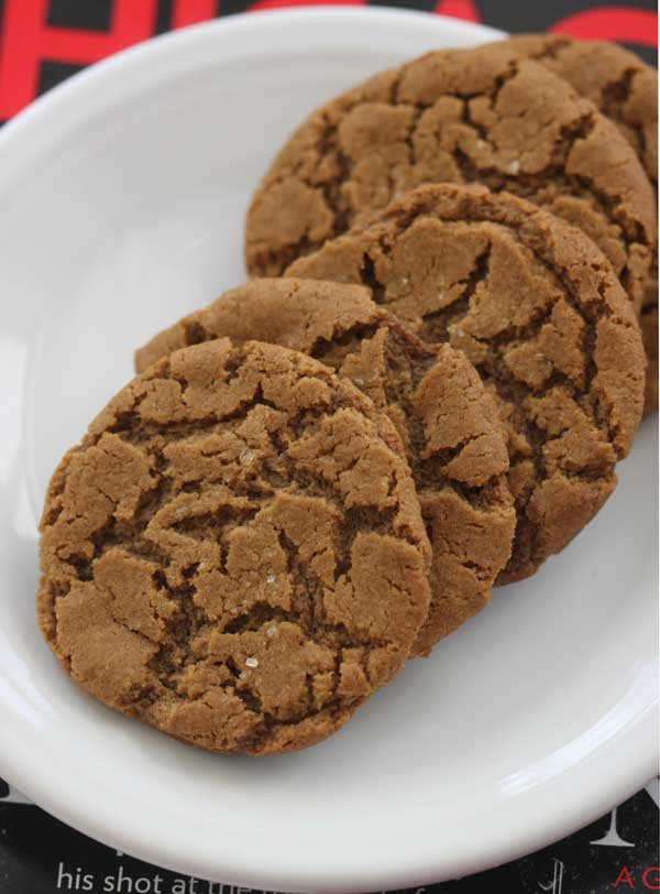 Gluten Free Molasses Cookies  Gluten Free Vegan Molasses Cookies Cookie Madness