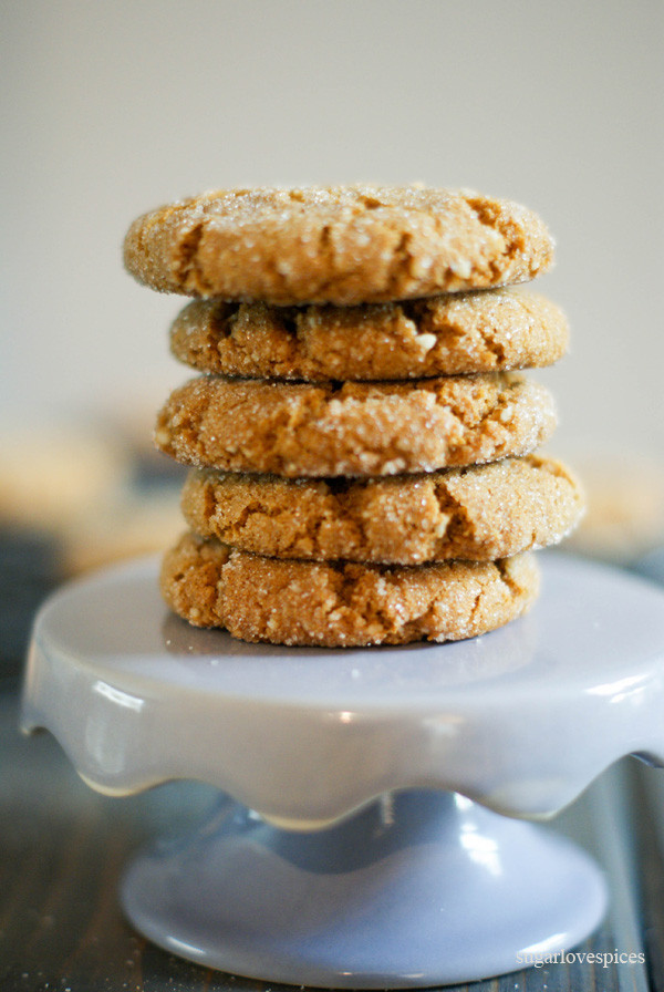Gluten Free Molasses Cookies  Gluten free Ginger Molasses Cookies SugarLoveSpices