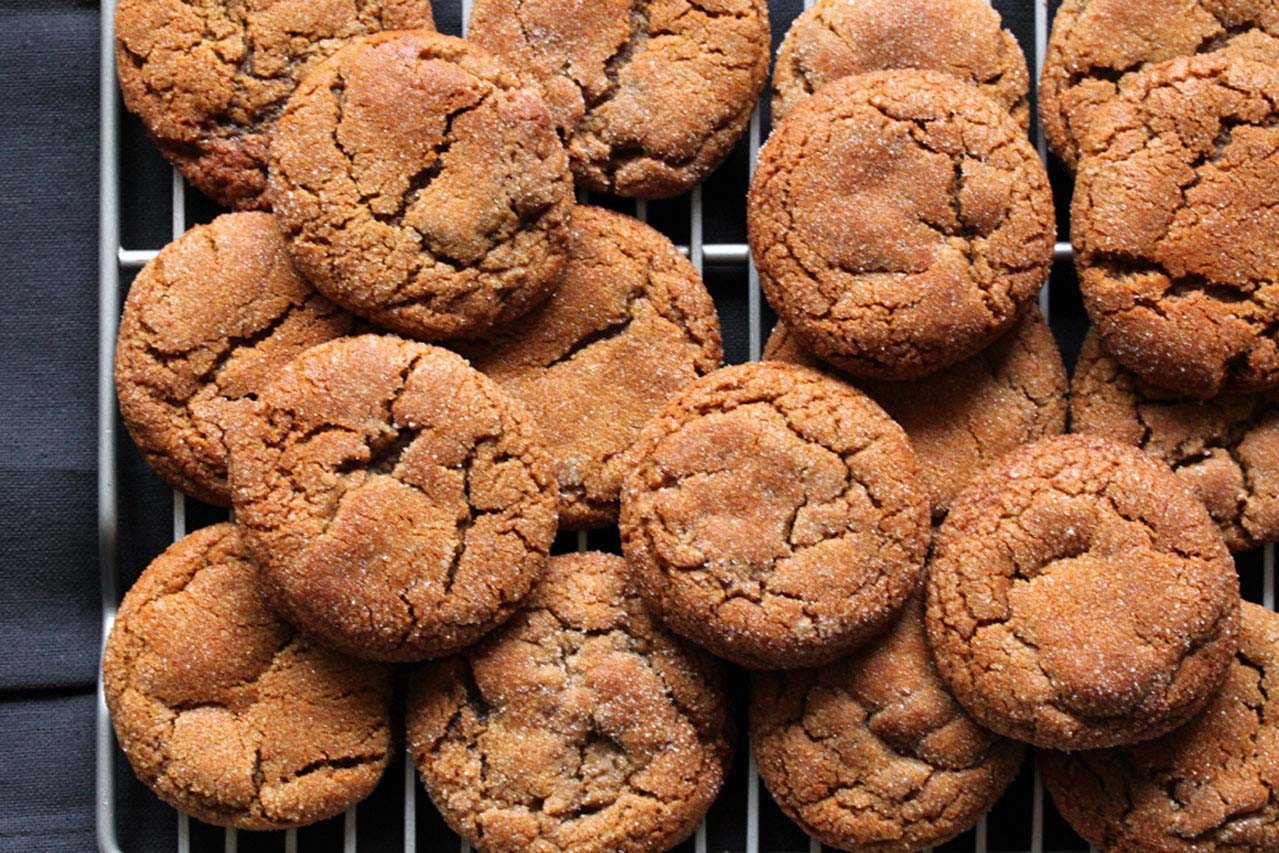 Gluten Free Molasses Cookies  Recipe Gluten Free Molasses Cookies