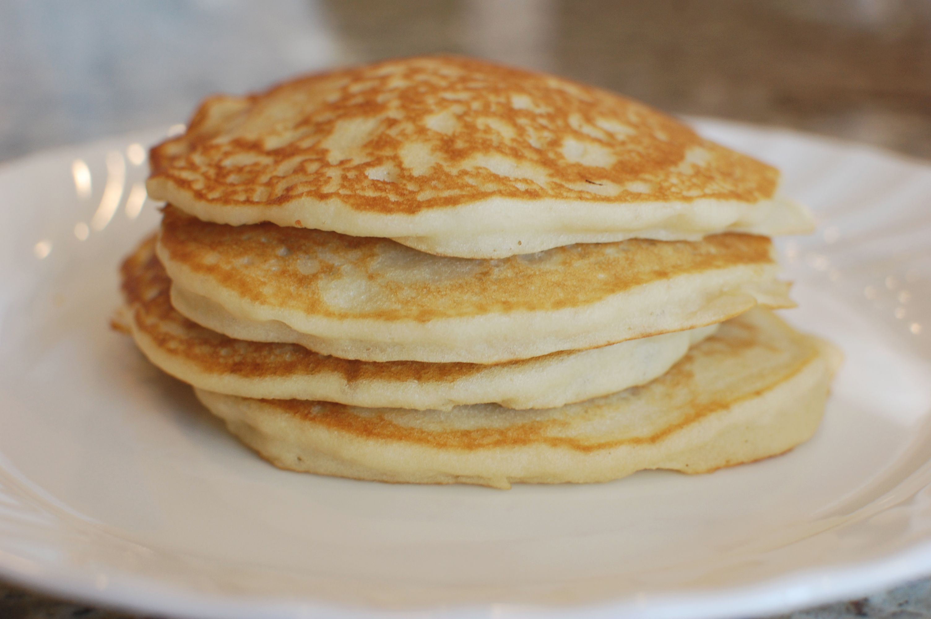 Gluten Free Pancakes  Fluffy Gluten Free Pancakes with Coconut Syrup also Dairy
