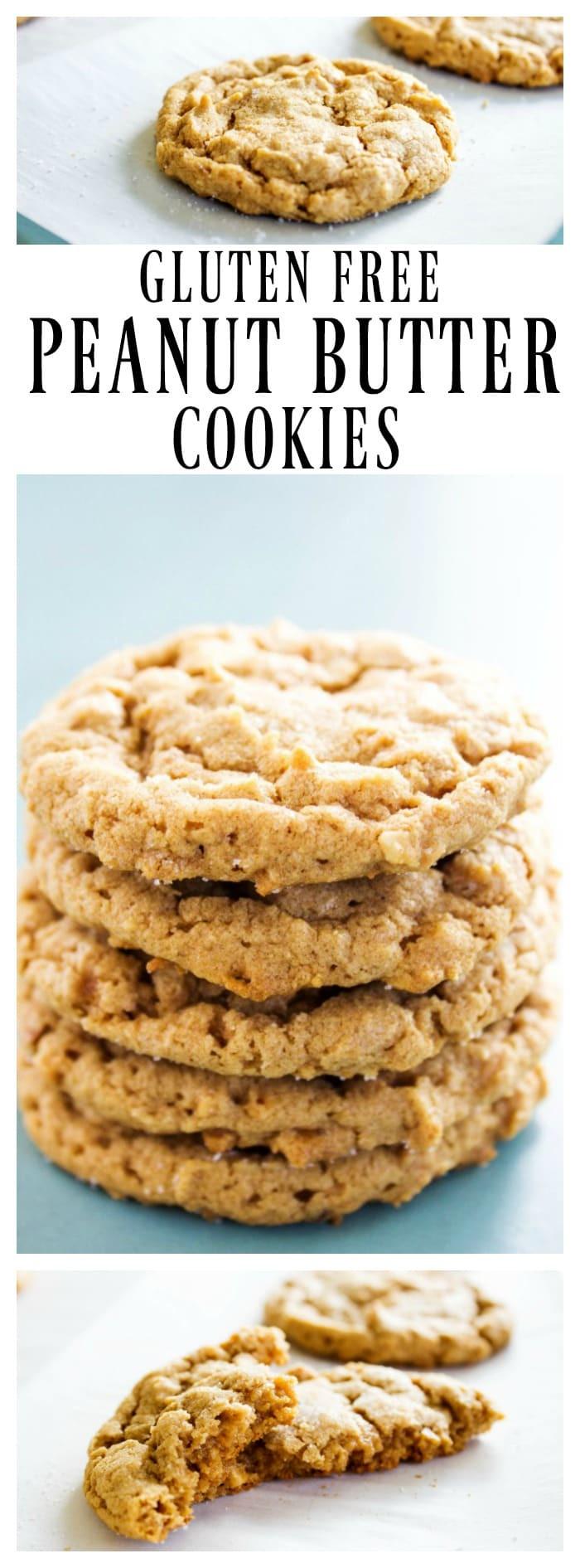 Gluten Free Peanut Butter Cookies  GLUTEN FREE PEANUT BUTTER COOKIES A Dash of Sanity