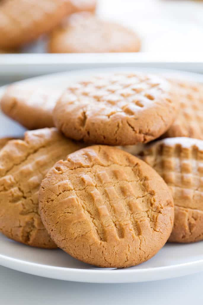 Gluten Free Peanut Butter Cookies  Crunchy Gluten Free Peanut Butter Cookies
