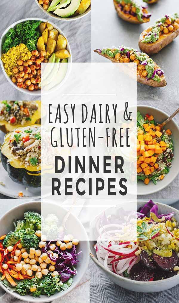 Gluten Free Recipes For Dinner  Easy Dairy & Gluten Free Dinner Recipes Jar Lemons