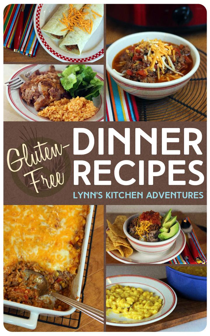 Gluten Free Recipes For Dinner  Gluten Free Dinner Recipes Lynn s Kitchen Adventures