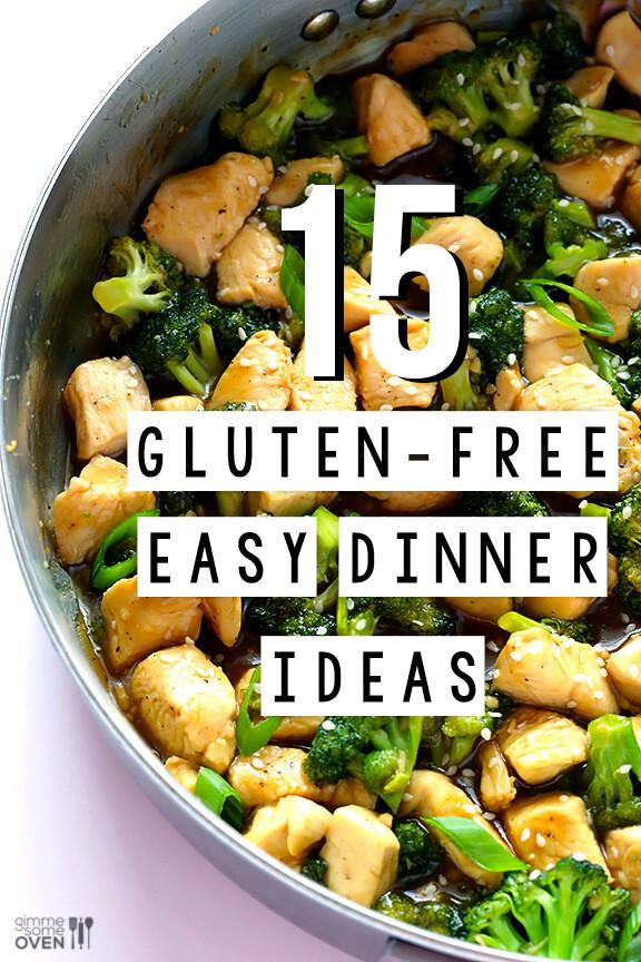 Gluten Free Recipes For Dinner  15 Gluten Free Easy Dinner Ideas