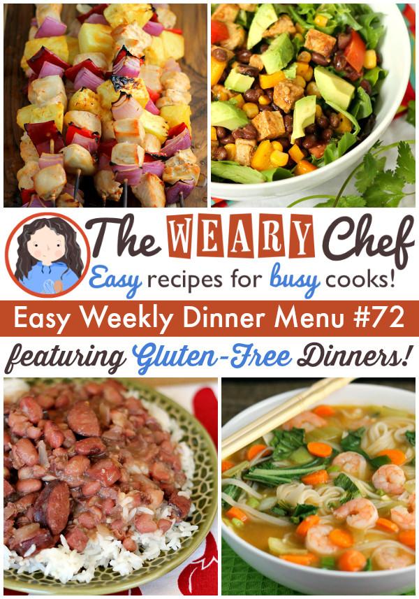 Gluten Free Recipes For Dinner  easy gluten free dinner recipes for family
