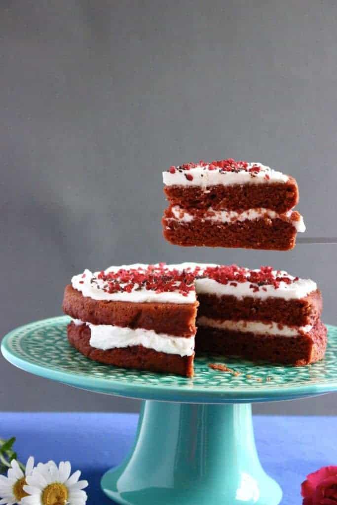 Gluten Free Red Velvet Cake  Gluten Free Vegan Red Velvet Cake