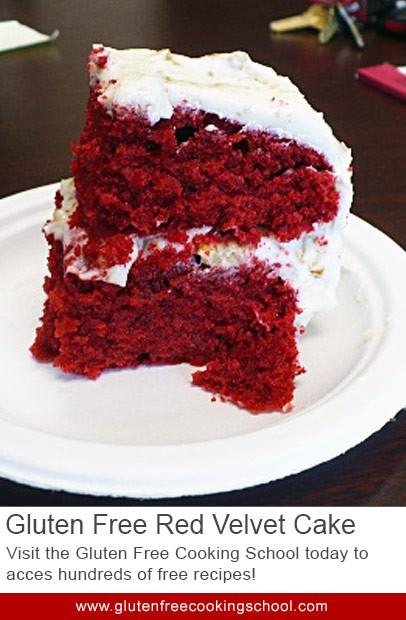 Gluten Free Red Velvet Cake  Gluten Free Red Velvet Cake Recipe Recipe from The