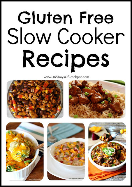 Gluten Free Slow Cooker Recipes  Naturally Gluten Free Slow Cooker Recipes 365 Days of