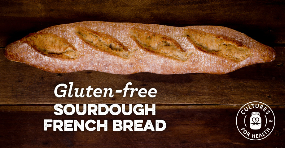 Gluten Free Sourdough Bread Recipe  Gluten free Sourdough French Bread Recipe Cultures for