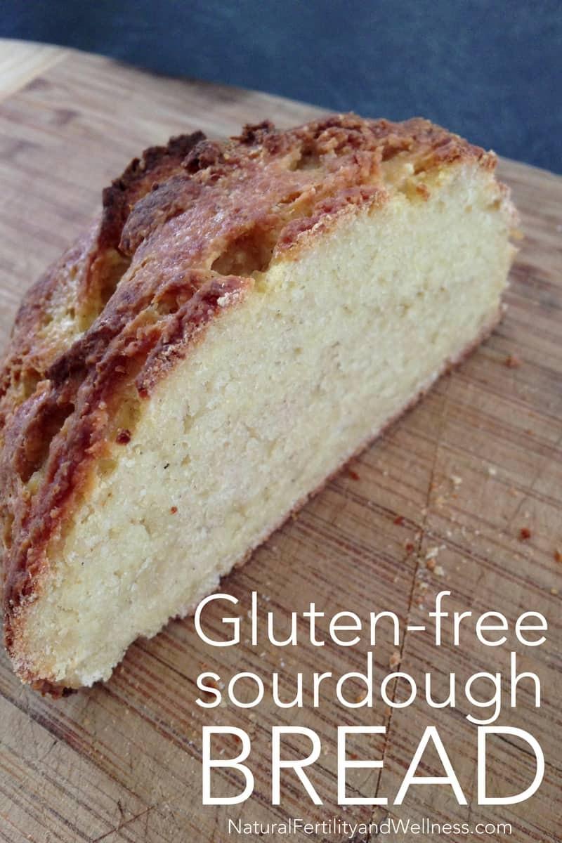 Gluten Free Sourdough Bread Recipe  Gluten free sourdough bread artisan style