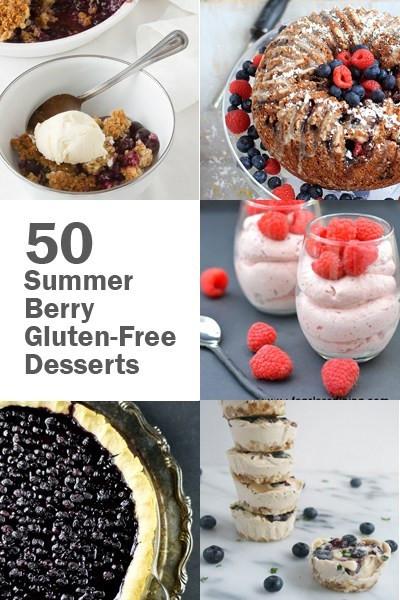 Gluten Free Summer Desserts  50 Summer Berry Gluten Free Desserts